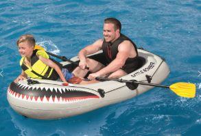 Nafukovací čluny nejen pro děti
