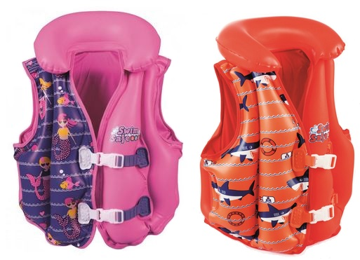 Bestway Swim Safe Boys/Girls Deluxe vesta