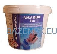 Bazénová chemie AQUA BLUE Chlor ŠOK 5kg