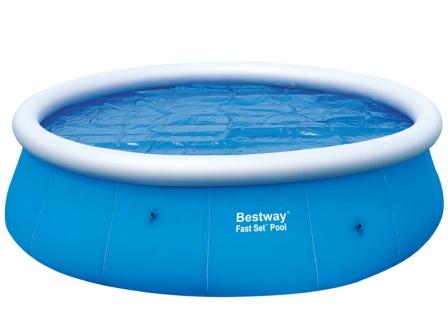 Solární bazénová plachta na bazén 366 cm Bestway 58062