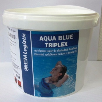 Bazénová chemie AQUA BLUE TRIPLEX 3 kg