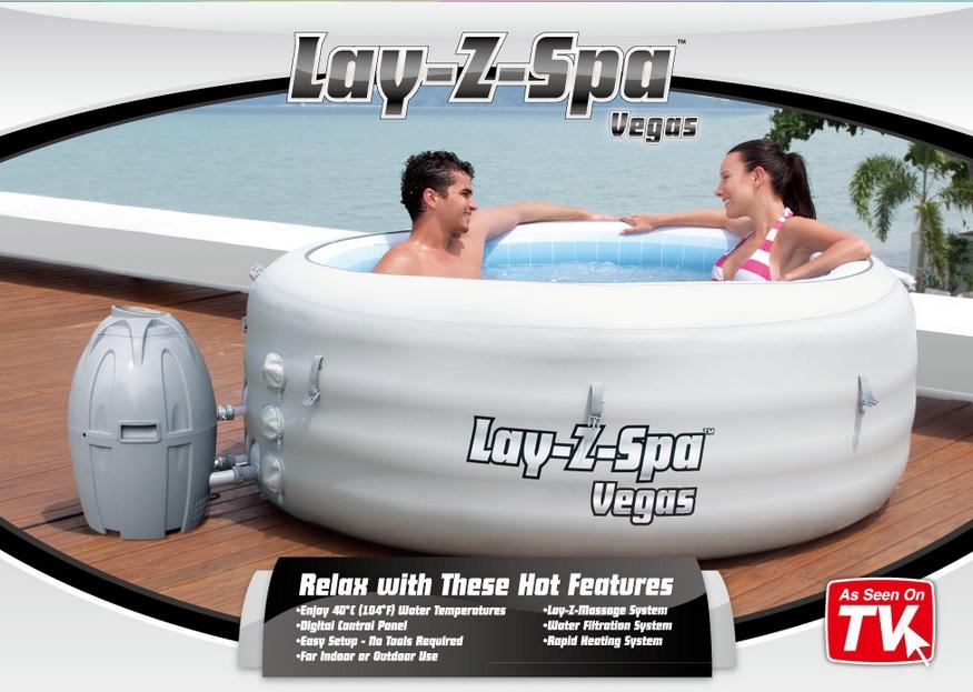 Vířivka-Vířivý bazén BESTWAY Lay-Z Spa Vegas - Bestway 54112
