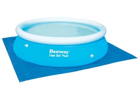 Bestway Podkladová plachta pod bazén 335x335 cm