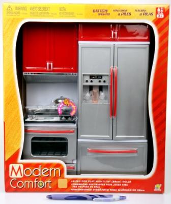 Kuchyňka Modern pro panenky (kuchyńka pro panenky)