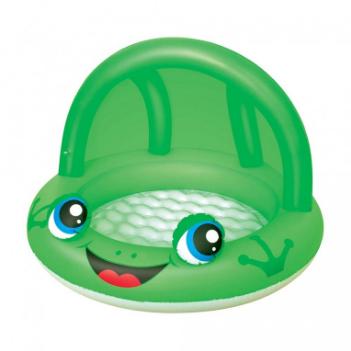 BESTWAY 52189 Zvířátko se stříškou 97x66 cm žába žába