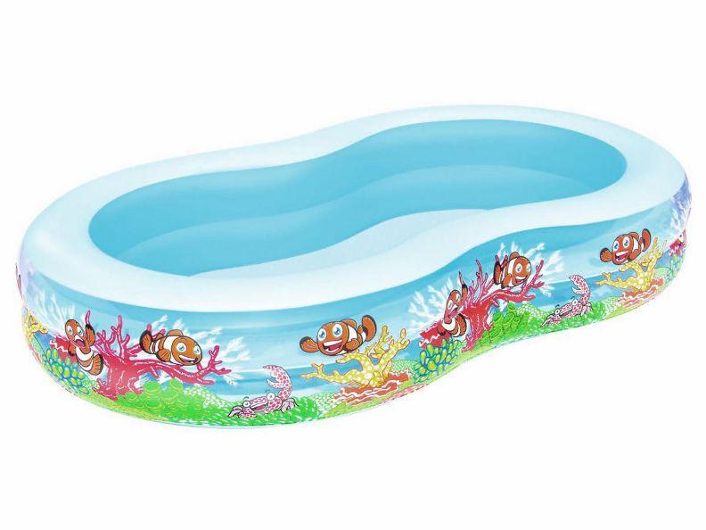 Bestway dětský nafukovací bazének 262 x 157 x 46 cm Bestway 54118