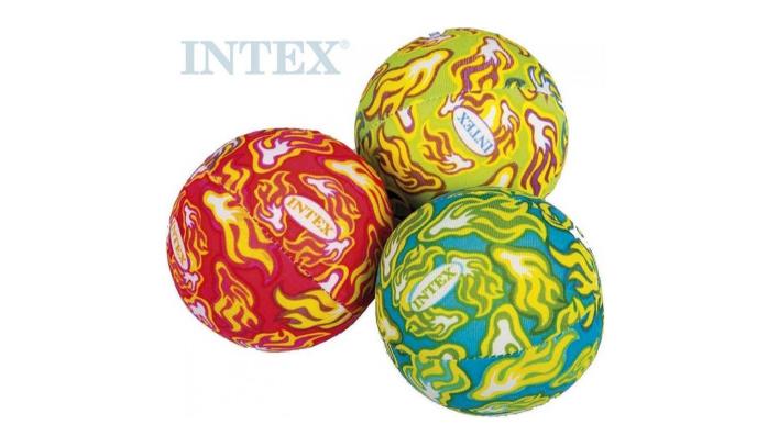 Intex Míč dětská vodní bomba 5cm 3 barvy set 3ks v síťce