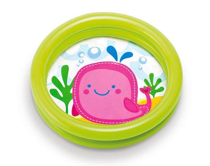 INTEX MY FIRST Bazén nafukovací dětský 61x15cm zelená