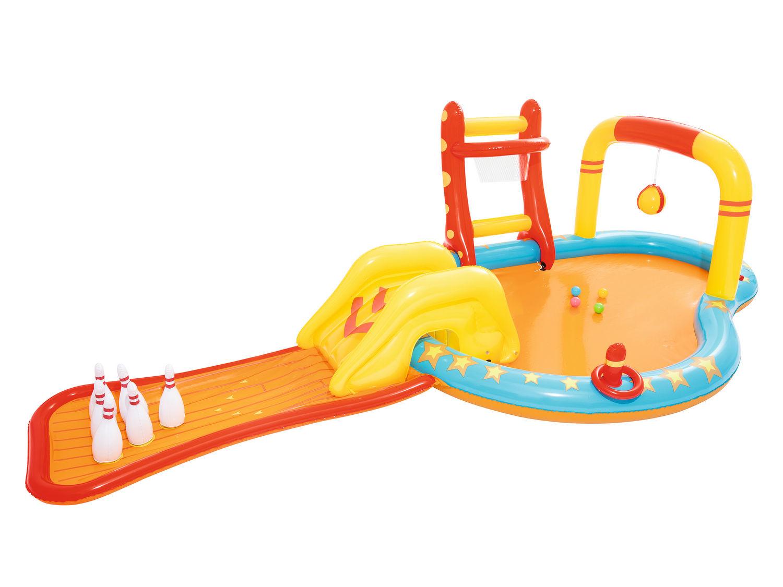 e67e5be345 Bestway 53068 nafukovací bazének sportovní vodní hřiště s doplňky