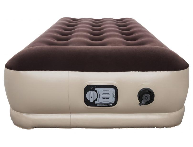 51224ae85812 Bestway 67572 Nafukovací postel vysoká Journey s zabudovanou bateriovou  pumpou