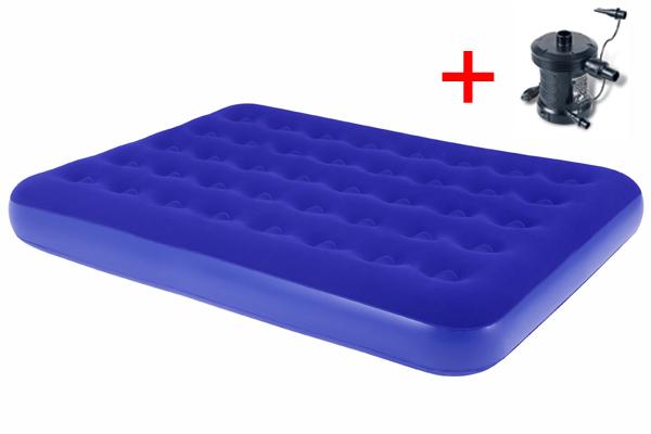 Nafukovací postel + el. pumpa 230 V