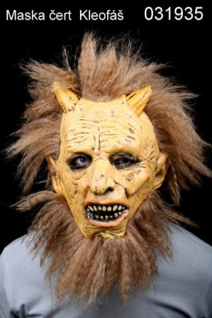 Maska čert Kleofáš