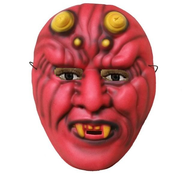 Čert maska